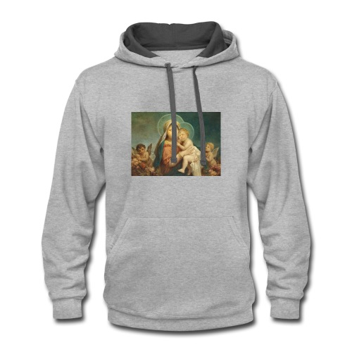 MAdonna and St. Steven - Contrast Hoodie