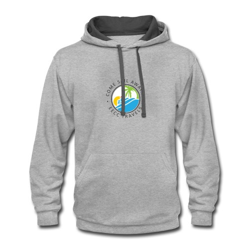 Come Sail Away - EECC Travels - Contrast Hoodie