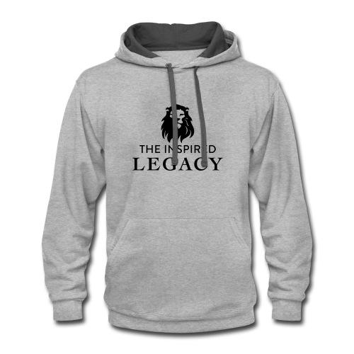 The Inspired Legacy Lion Head - Contrast Hoodie