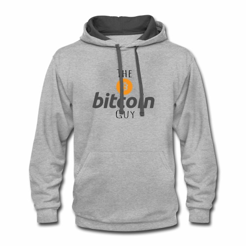 The Bitcoin Guy - Contrast Hoodie
