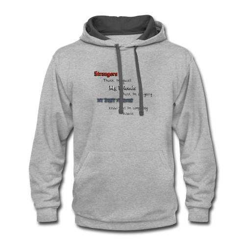 what they think - Contrast Hoodie