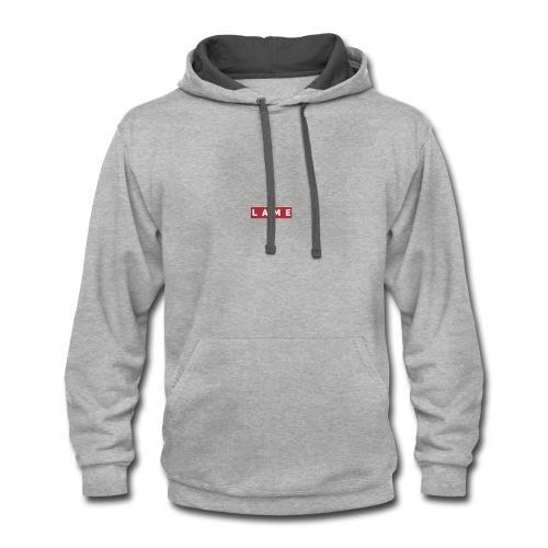 Lame og hoodies - Contrast Hoodie