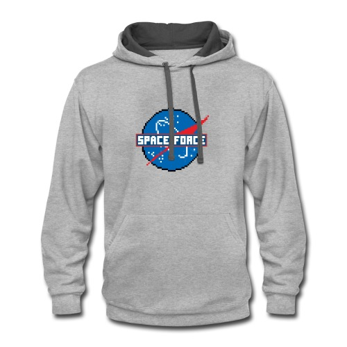 Space Force - Contrast Hoodie