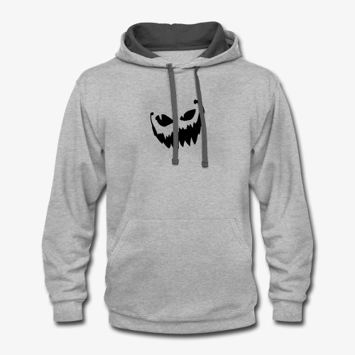 Crazy Smile - Halloween Collection - Contrast Hoodie