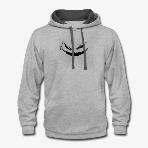 Spooky Smile - Halloween Collection - Contrast Hoodie