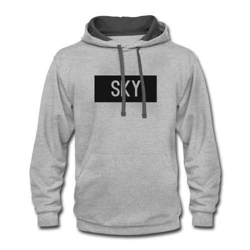 SKY - Contrast Hoodie