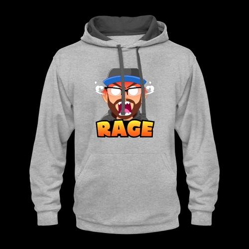RAGE - Contrast Hoodie