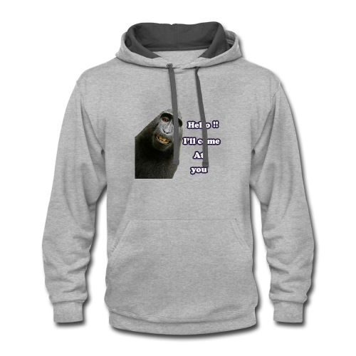 Monkey t-shirt - Contrast Hoodie