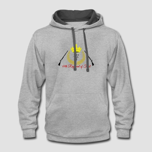 49th Logo - Contrast Hoodie