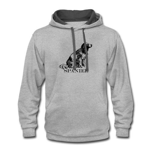 Spaniel - Contrast Hoodie