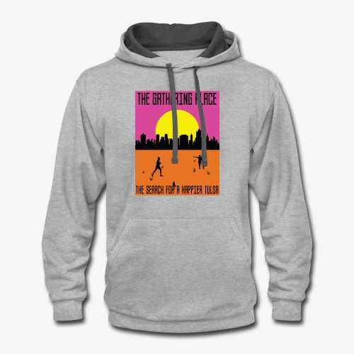 The Gathering Place - Contrast Hoodie