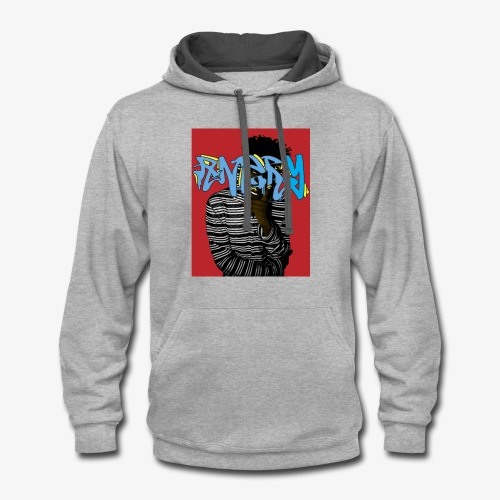Original ANGRY Shirt - Contrast Hoodie