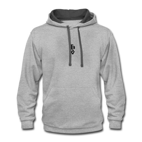 TheAwakendGamerVlogs (TAGV) Bunched Up Logo - Contrast Hoodie