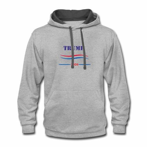 TRUMP - Contrast Hoodie