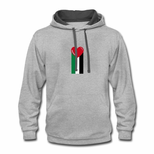 With Love! - Contrast Hoodie