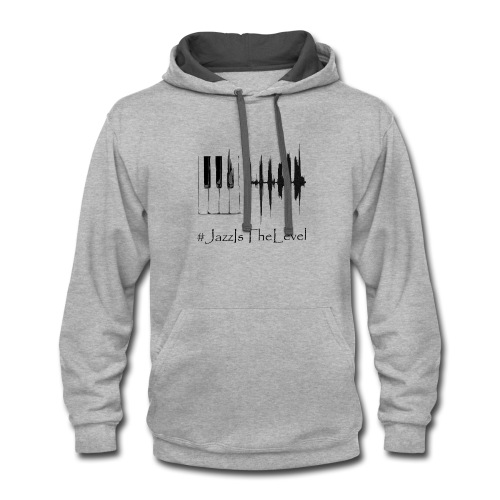 Jazz Is The Level T-Shirt Happy Apparel New York - Contrast Hoodie