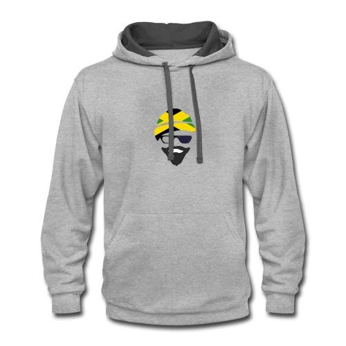 Jamaica Style - Contrast Hoodie