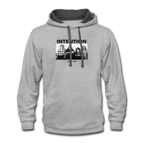 INTENTION - Contrast Hoodie