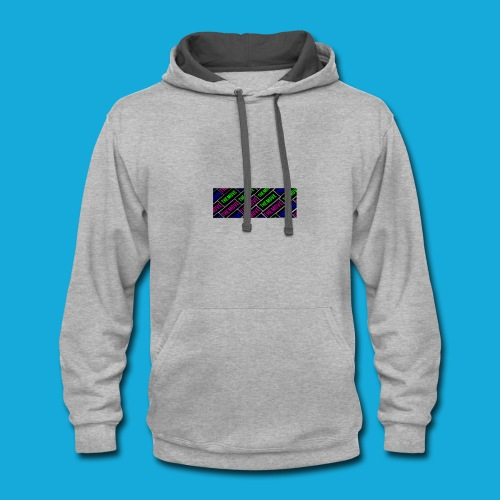 The Move logo box silhouette - Contrast Hoodie