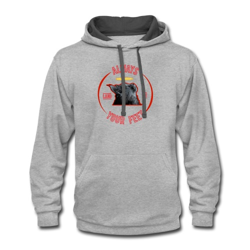 Funny cat - Contrast Hoodie