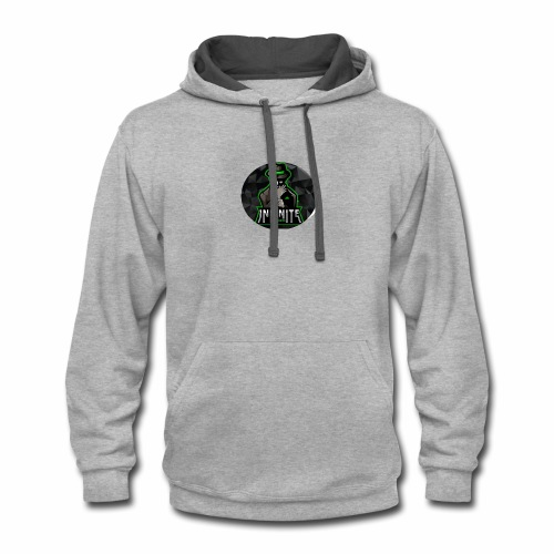Infinite Esports Official Logo Merch - Contrast Hoodie