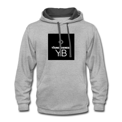 Young Business Hoodie - Contrast Hoodie