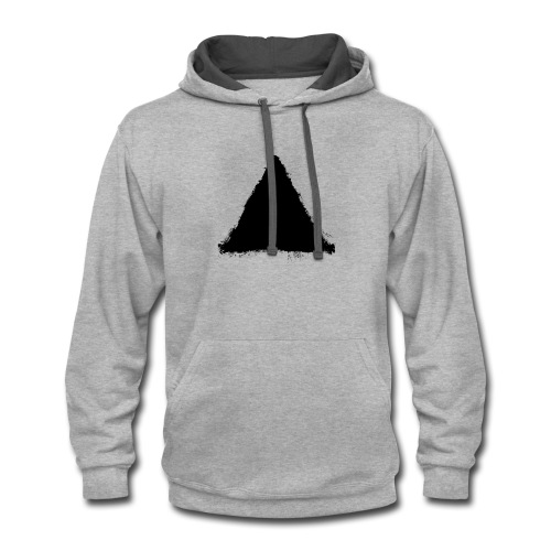 triangle - Contrast Hoodie