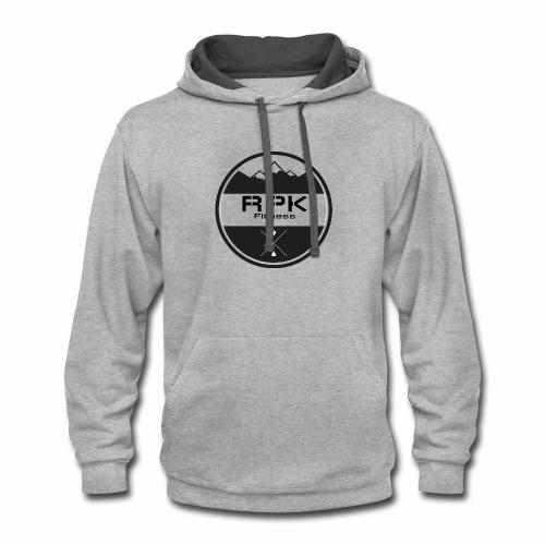 RPK Fit White - Contrast Hoodie