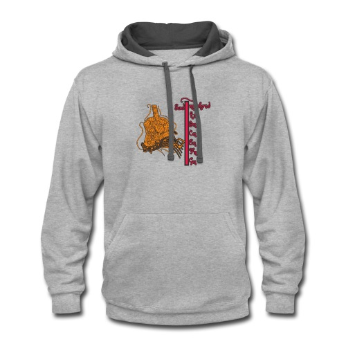 guitar expression - Contrast Hoodie