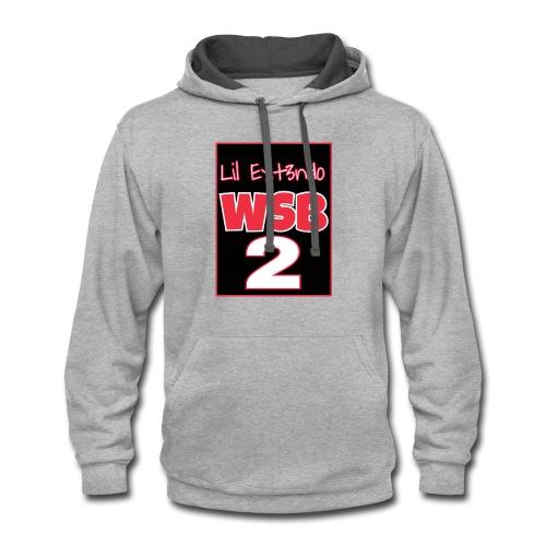 wsb 2 - Contrast Hoodie