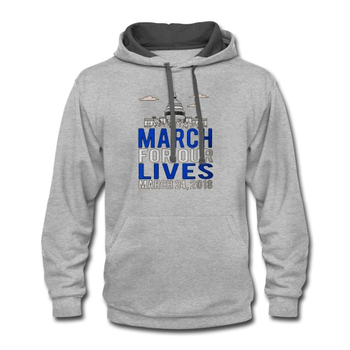 March For Our Lives - Contrast Hoodie