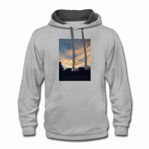 Fall sunset - Contrast Hoodie