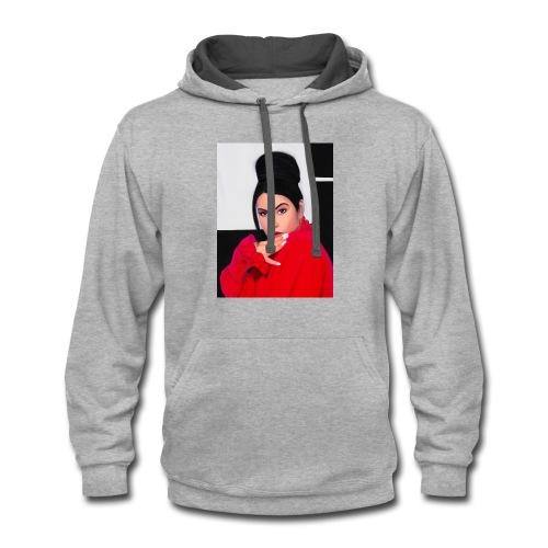 Selena - Contrast Hoodie
