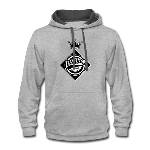 Psÿke Crown Logo - Contrast Hoodie