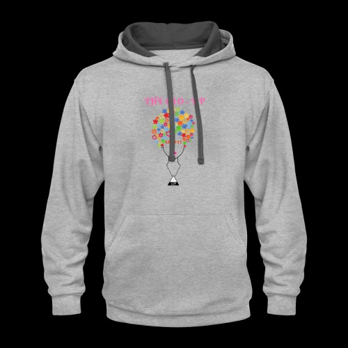 THE GLO- UP - Contrast Hoodie
