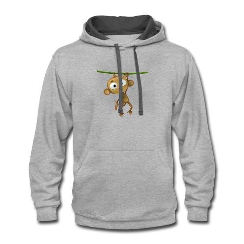Monkey Swing - Contrast Hoodie