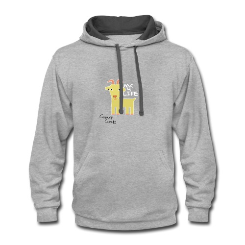 Limited Edition Galaxy Goats Merch - Contrast Hoodie