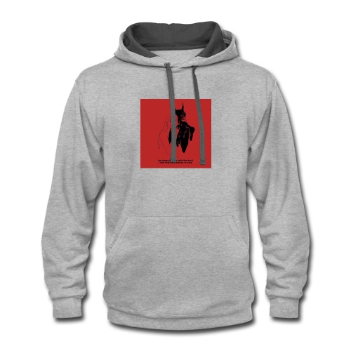 Dancing with the devil - Contrast Hoodie