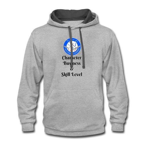 SB Seal Design - Contrast Hoodie