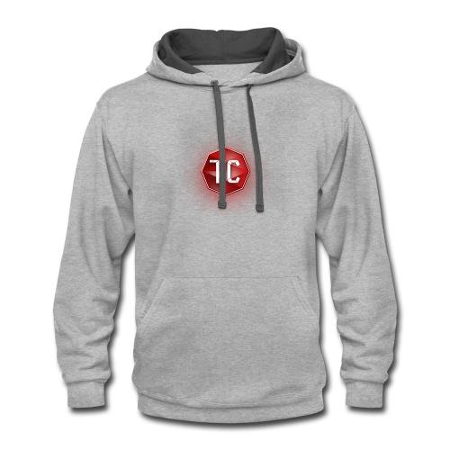 TC9700Gaming Classic Logo - Contrast Hoodie