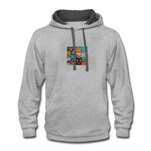 Multiple Personality - Contrast Hoodie