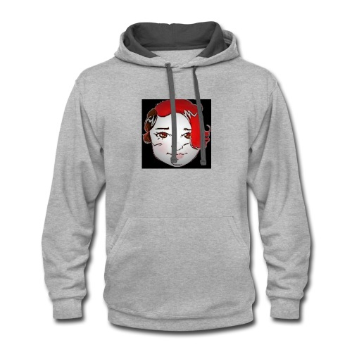 amy slaton - Contrast Hoodie
