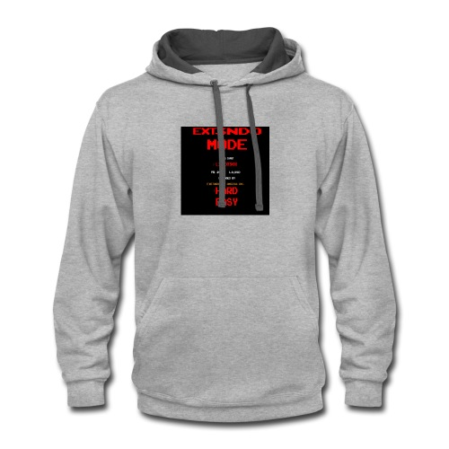 ext3ndo mode - Contrast Hoodie