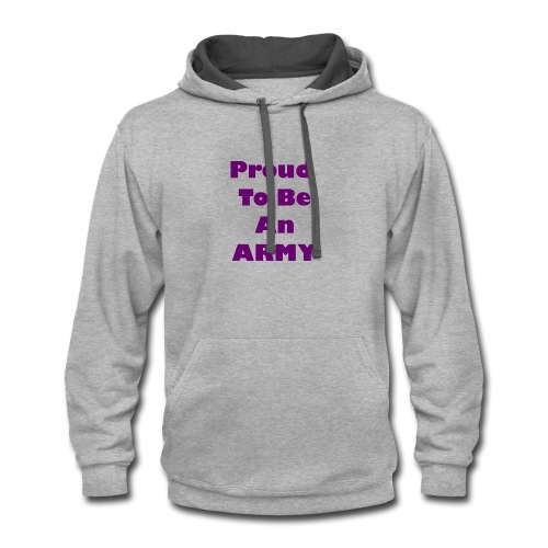 BTS - Proud To Be An ARMY - Contrast Hoodie
