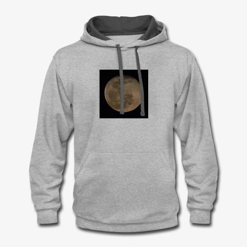 moon 2015 - Contrast Hoodie