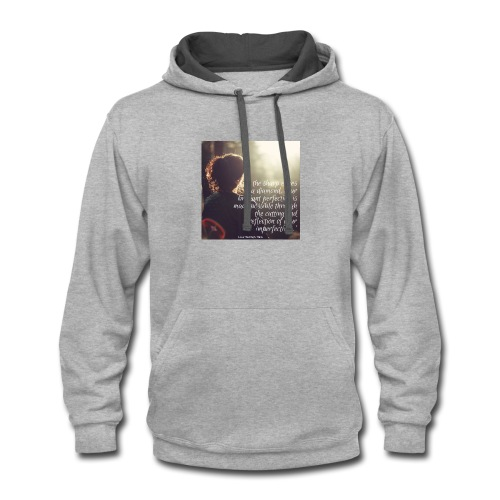 perfection-imperfections - Contrast Hoodie