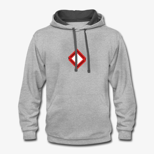 Red Square - Contrast Hoodie