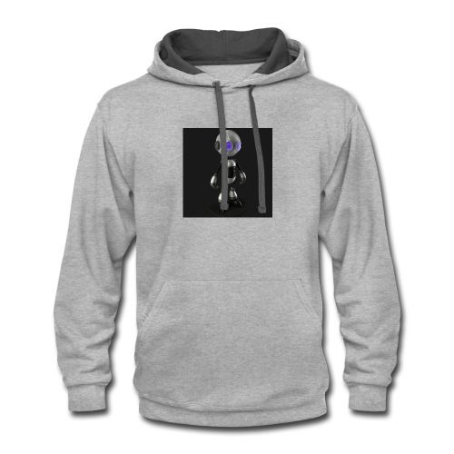 minibot - Contrast Hoodie