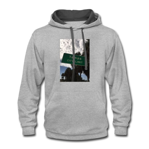 The City Limit tee - Contrast Hoodie