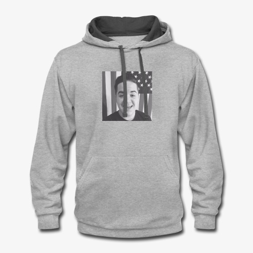 David is David - Contrast Hoodie